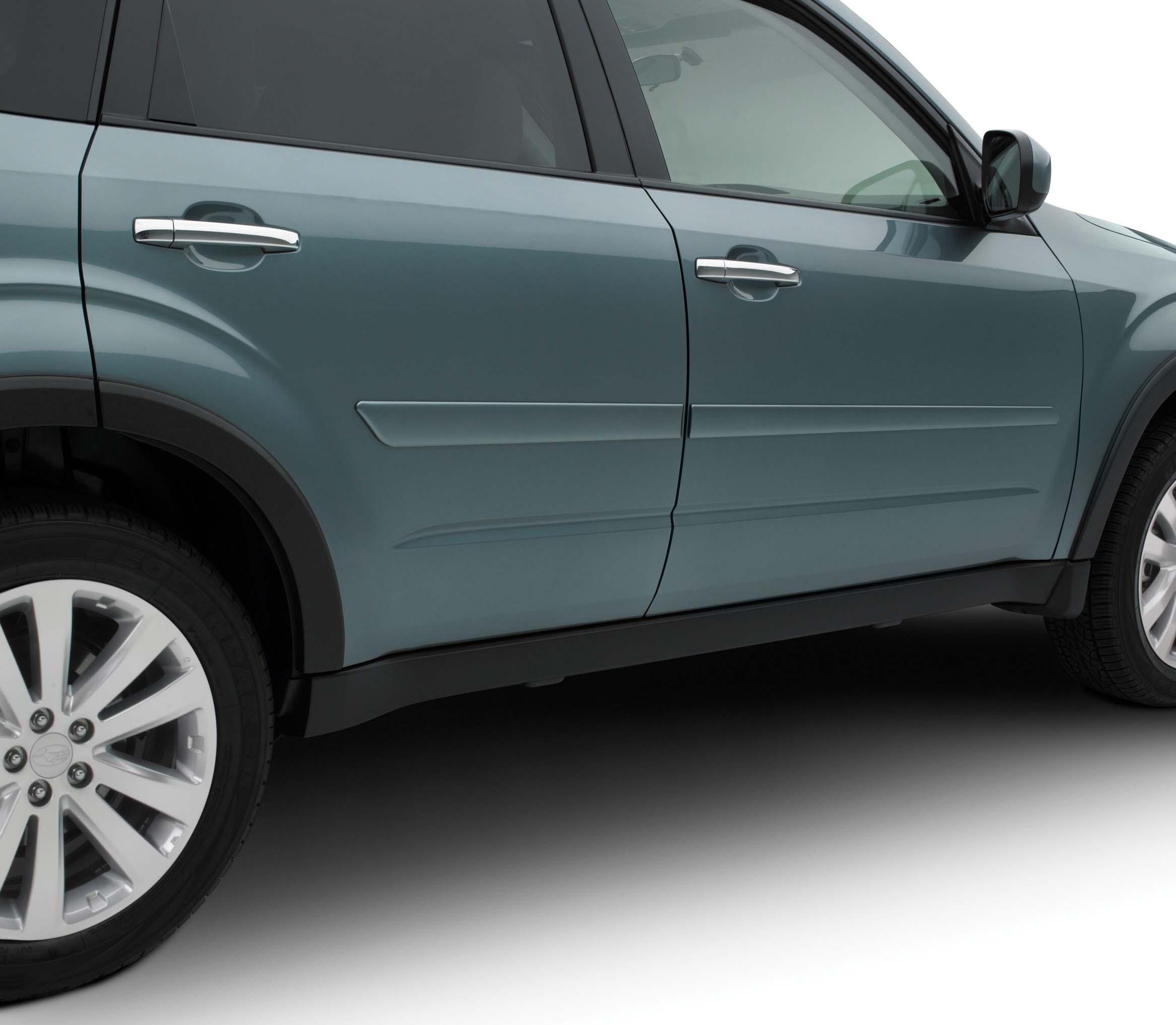 2011 Subaru Forester Body Side Molding Kit Metallic