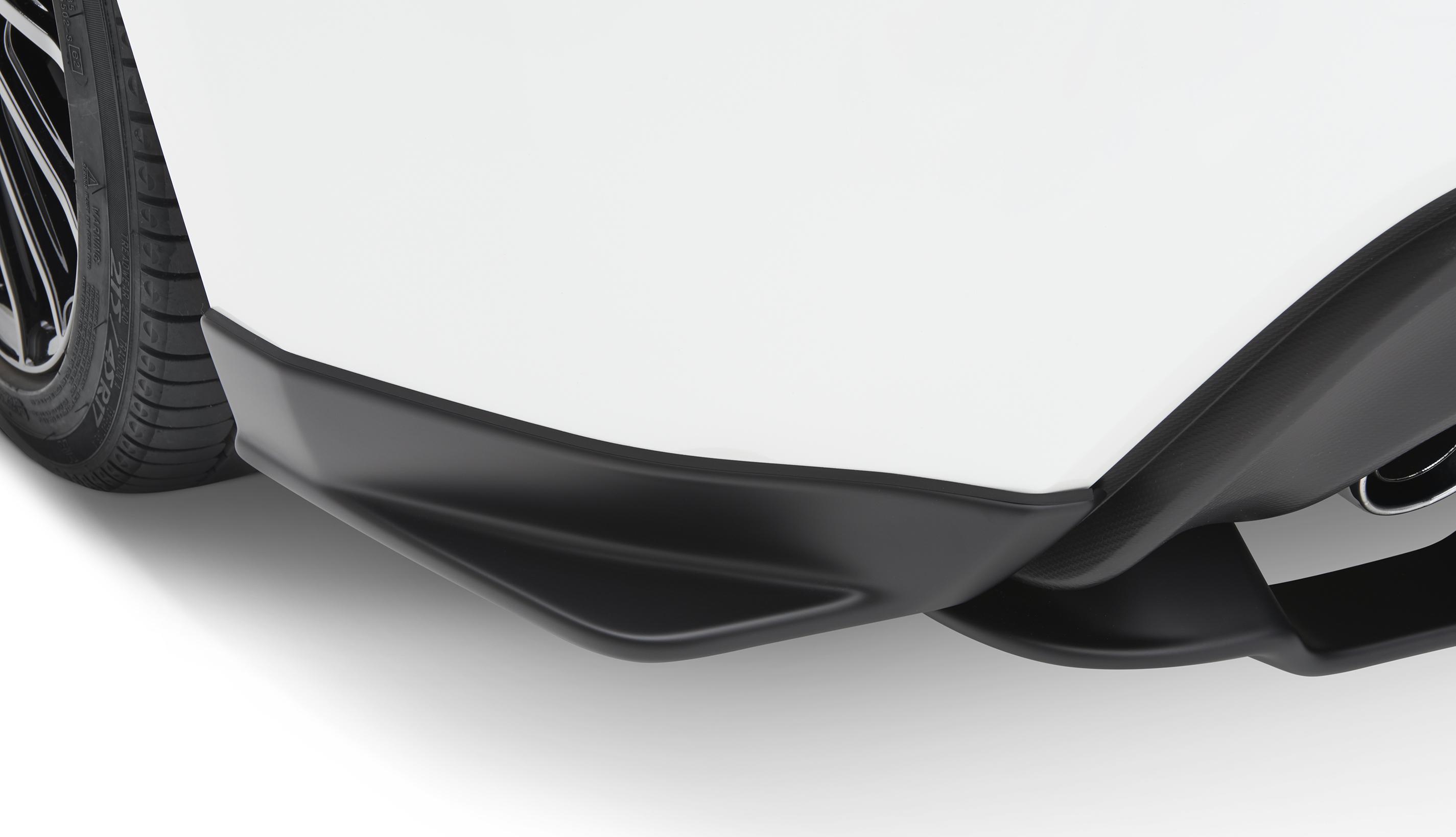 2013 Subaru Brz Sti Under Spoiler Rear Quarter Side