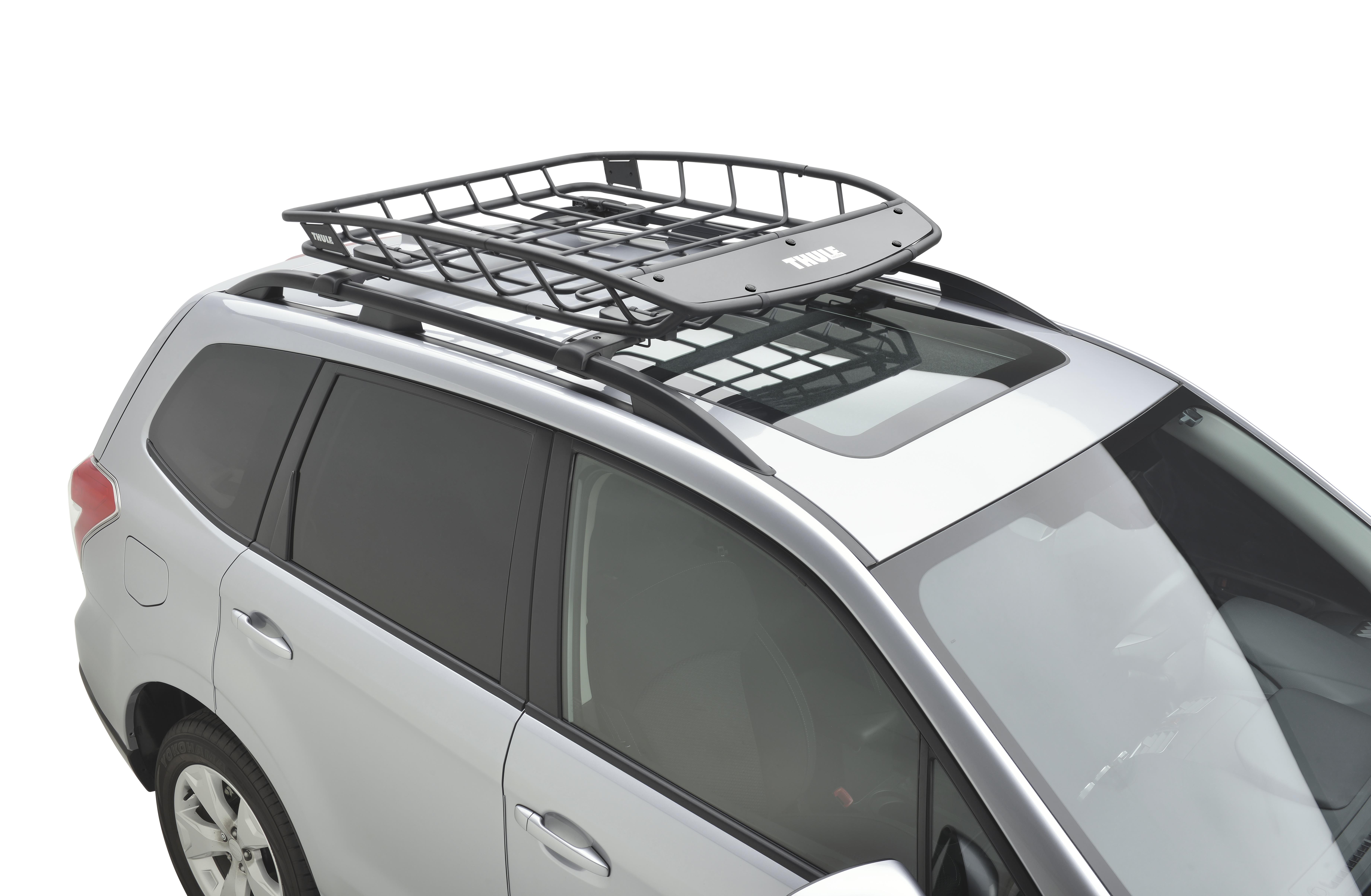2016 Subaru Forester Thule Heavy Duty Roof Cargo Basket